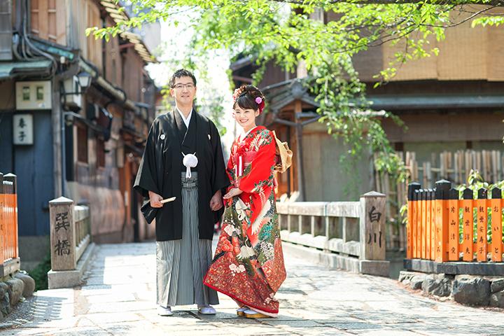 京都 前撮り 新緑